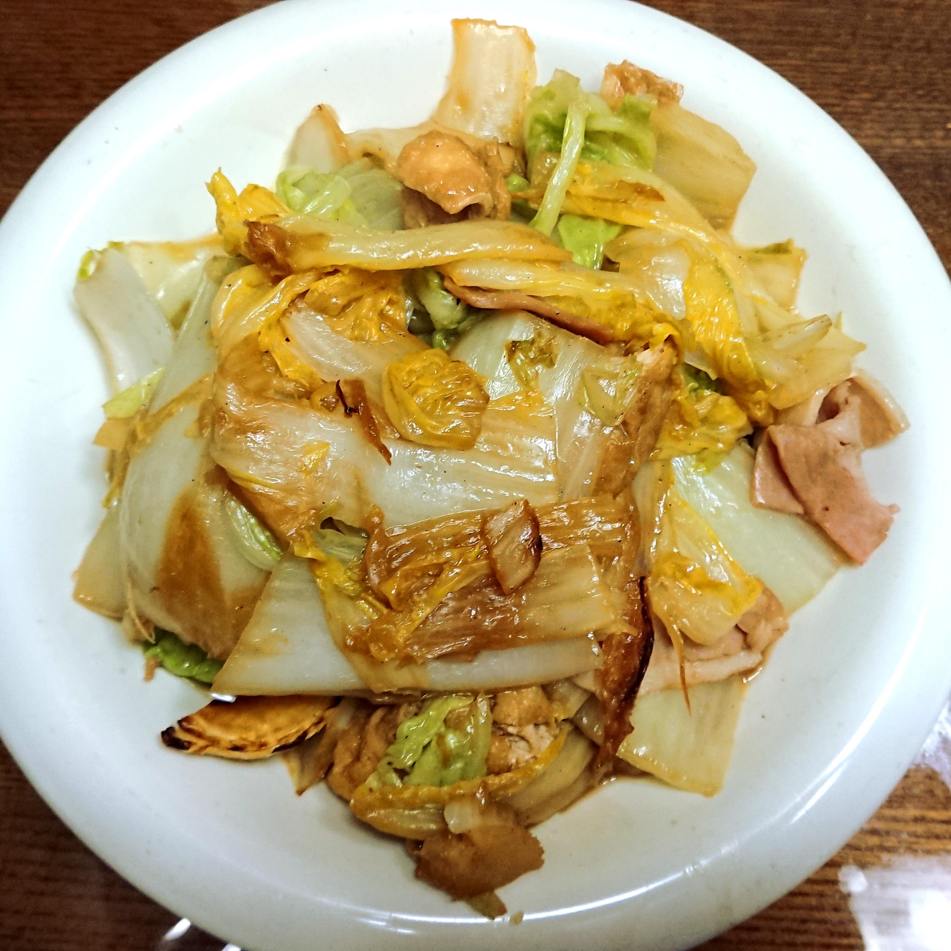 茨木えきまえマルシェ白菜ソテー