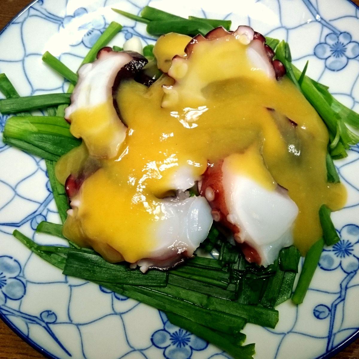 茨木えきまえマルシェ野菜レシピわけぎのぬた