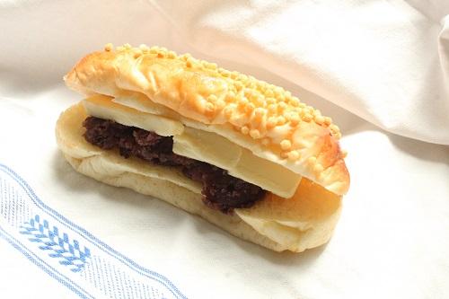 茨木えきまえマルシェパンとおやつあられのあんバター